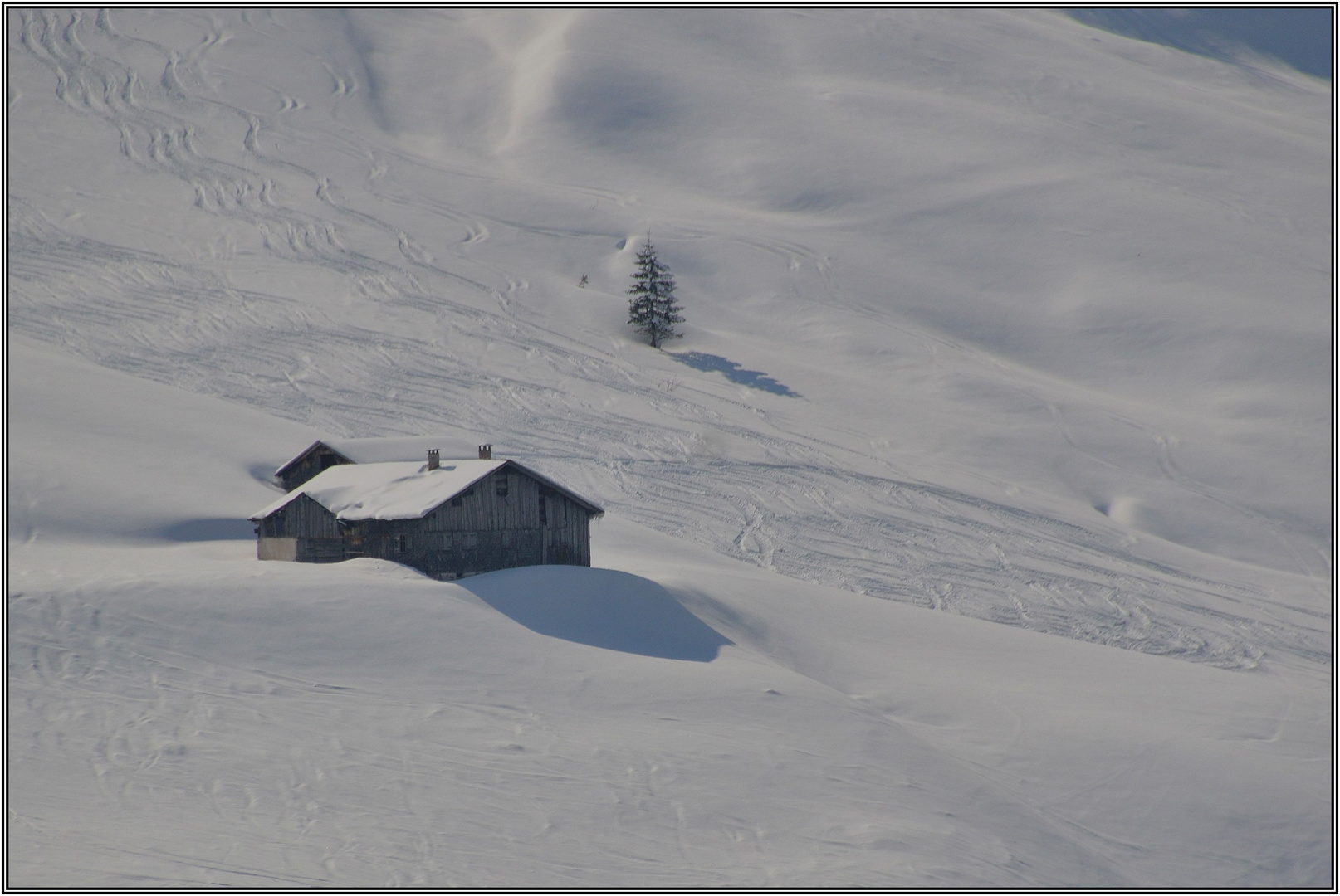 Winter im Lechtal