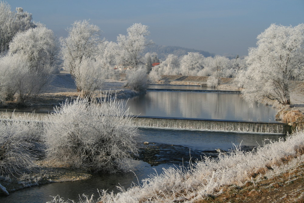 Winter im Mangfalltal