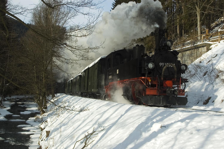 Winter im Preßnitztal