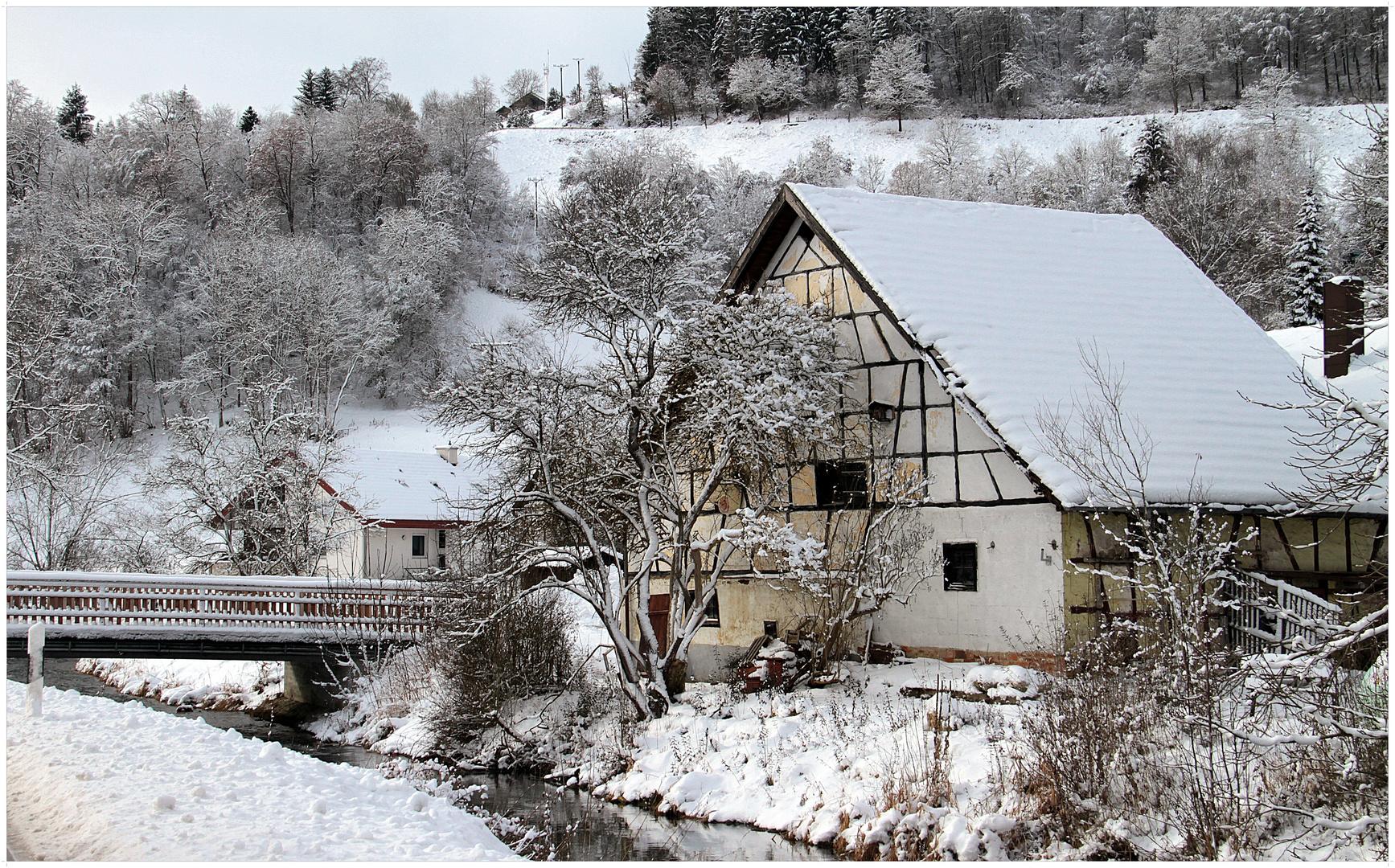 Winter im Tal der Lauter