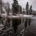 Winter Impression vom Ebnisee