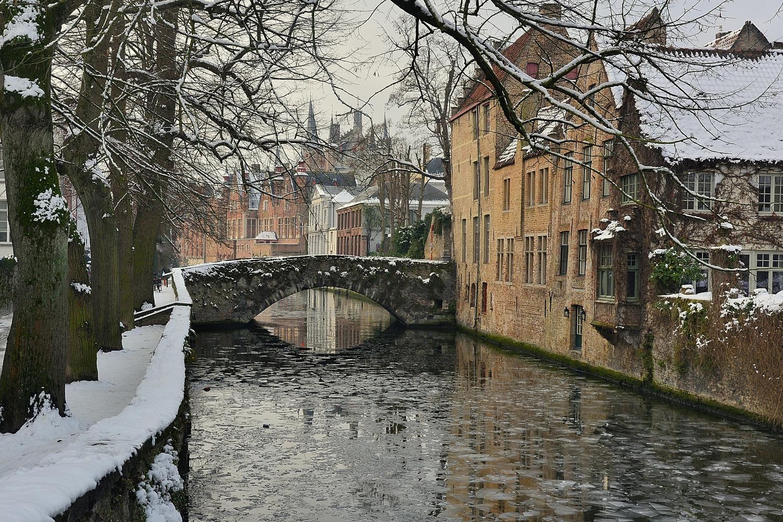 Winter in Bruges.