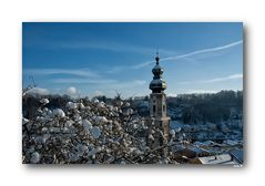 Winter in Burghausen