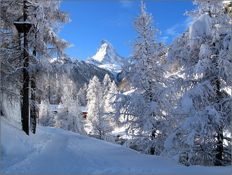 winter in den bergen foto bild jahreszeiten winter. Black Bedroom Furniture Sets. Home Design Ideas