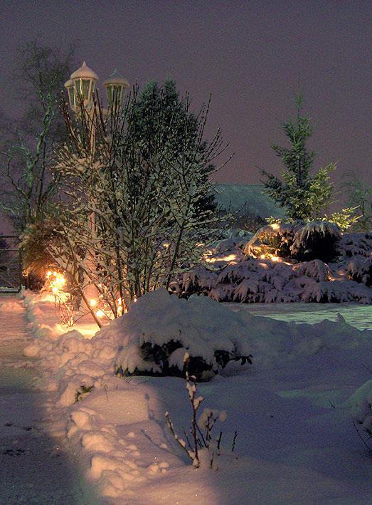 Winter in den Gärten