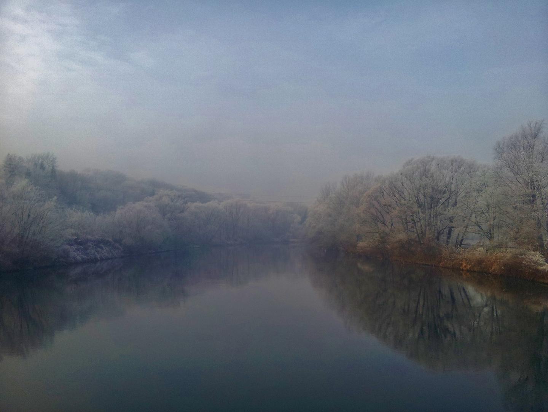 Winter in den Murauen