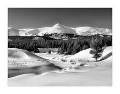 Winter in den Rocky Mountains II