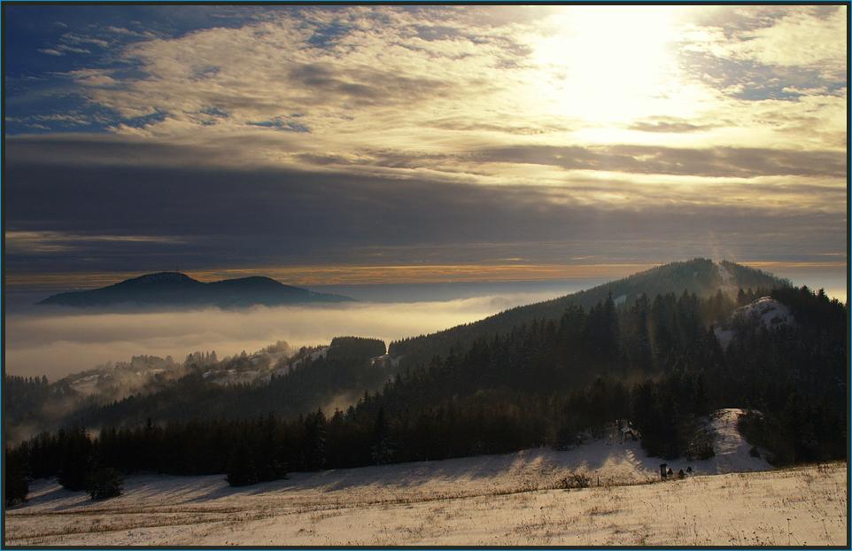 Winter in den Westkarpaten