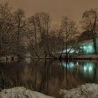 Winter in der Friedrichsau