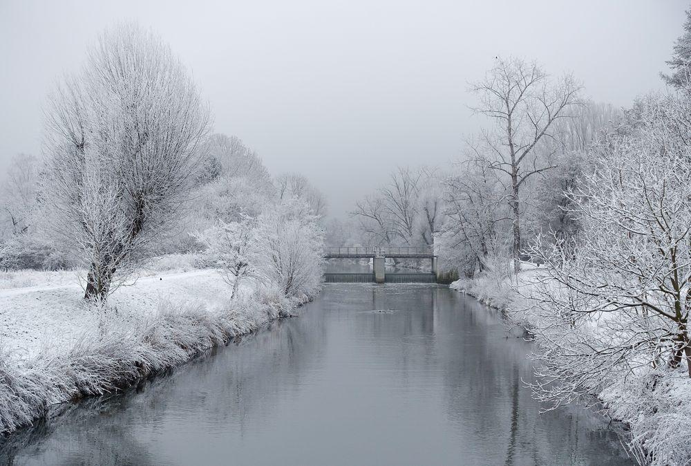 Winter in der Großstadt