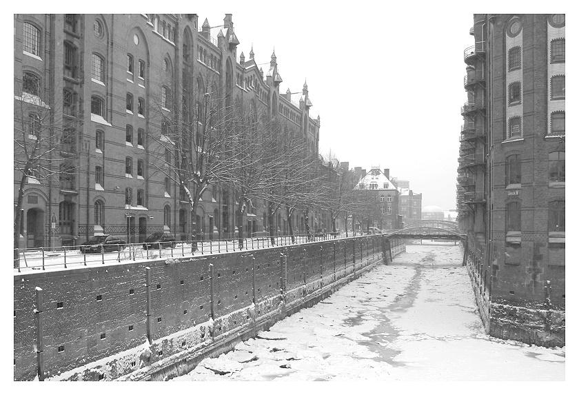 Winter in der Speicherstadt 1