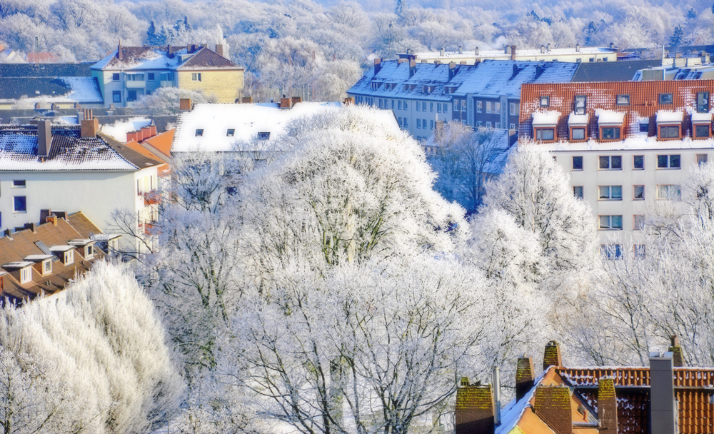 Winter in der Stadt