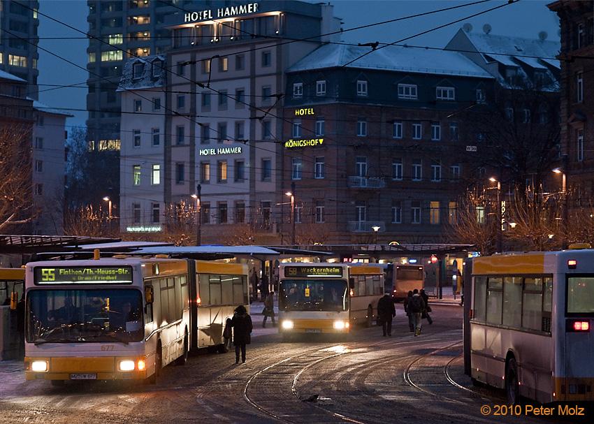 Winter in der Stadt III / Mainz Januar 2010