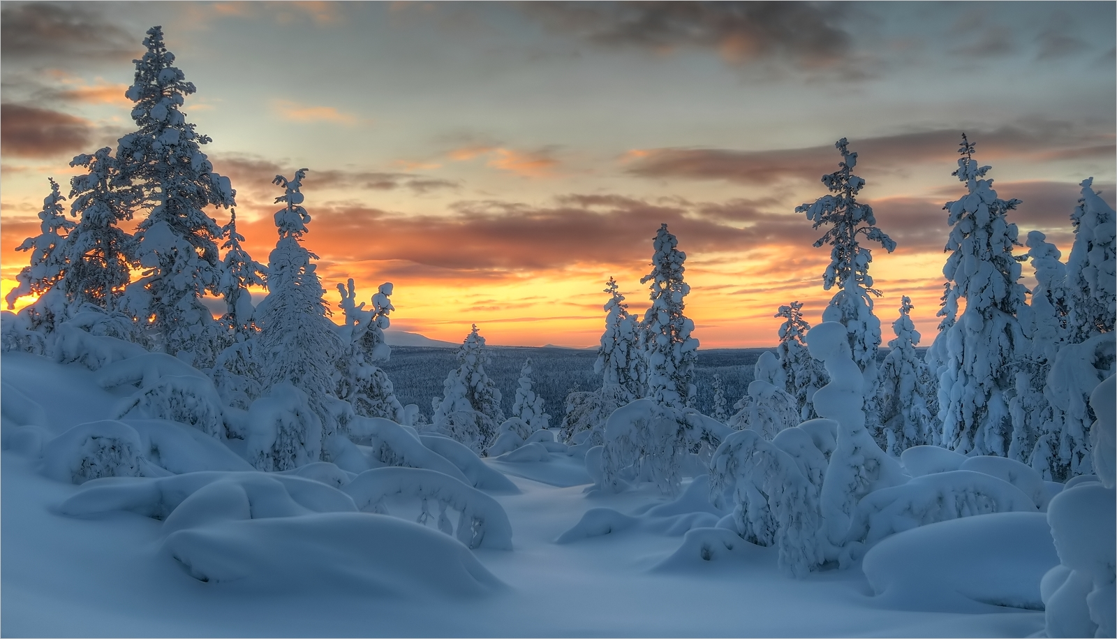 Winter in Enontekiö