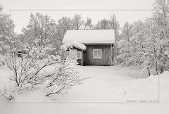Winter in Finnland