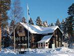 Winter in Finnland - Nurmes Karelien