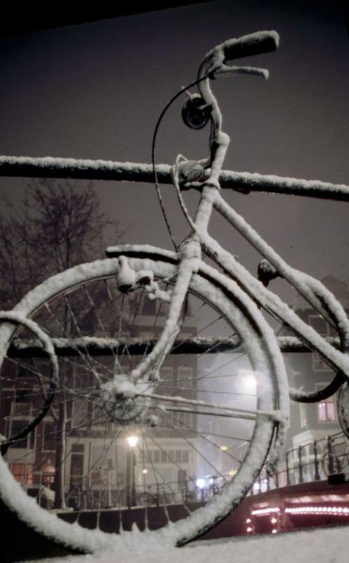 Winter in Heerengracht, Amsterdam