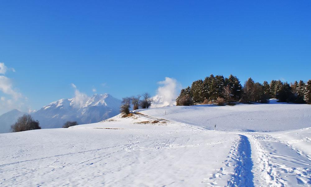 Winter in Igls