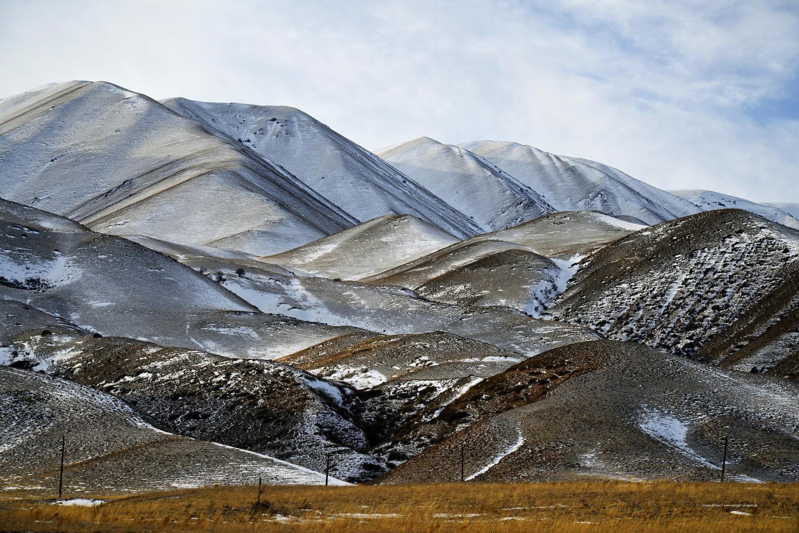 Winter in Kirgisistan 2017