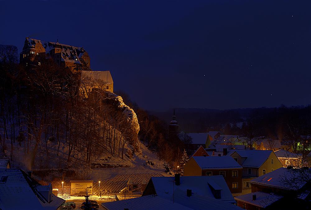 Winter in Könitz