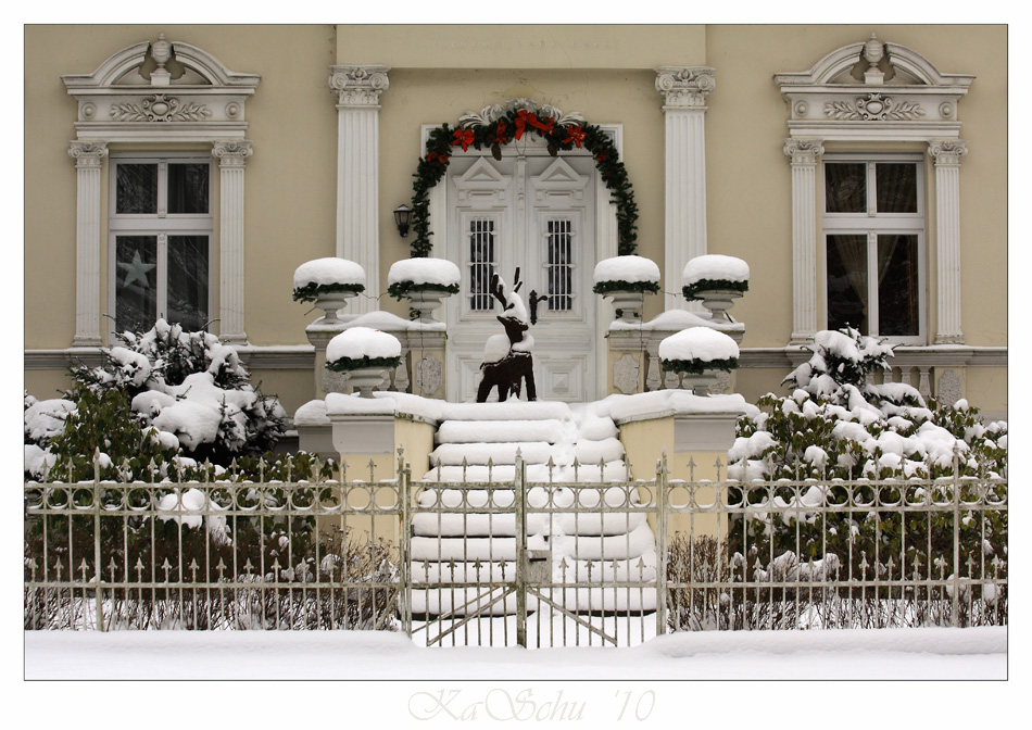 Winter in Lübars