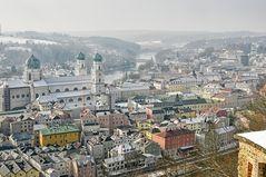 Winter in Passau