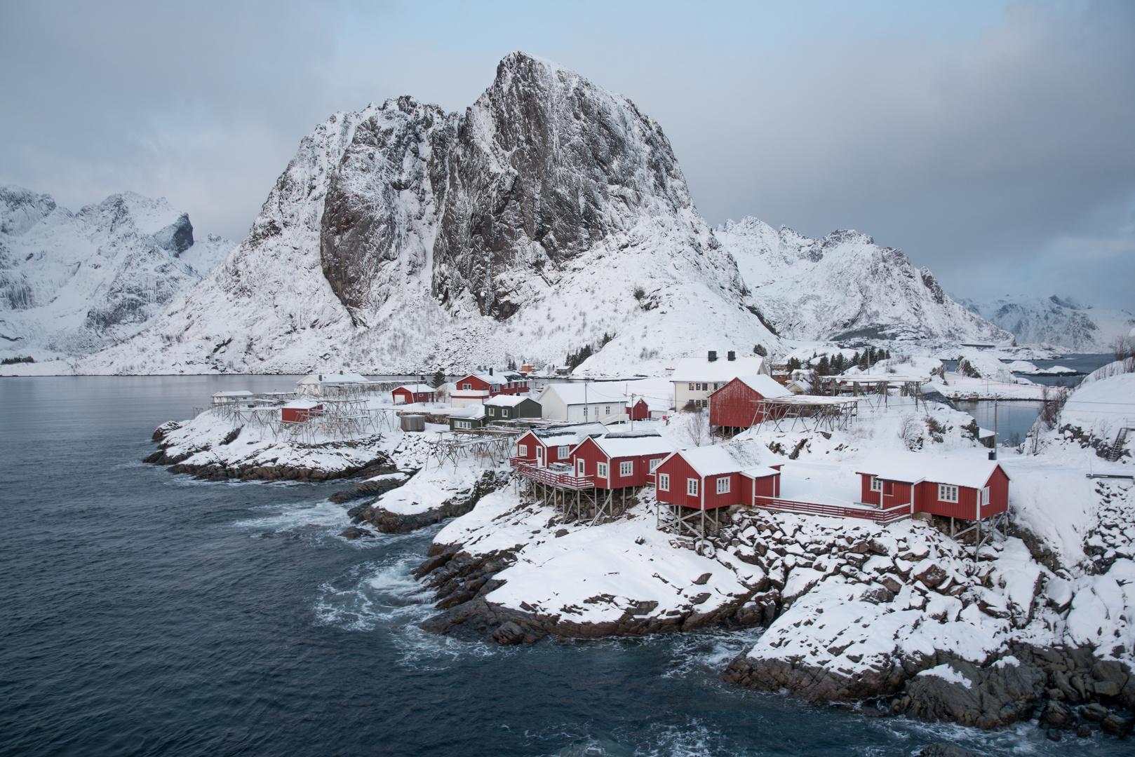 Winter in Reine, Lofoten