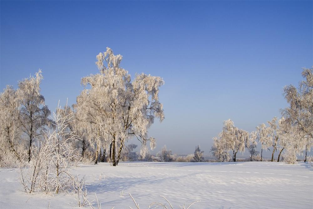Winter in Sachsen