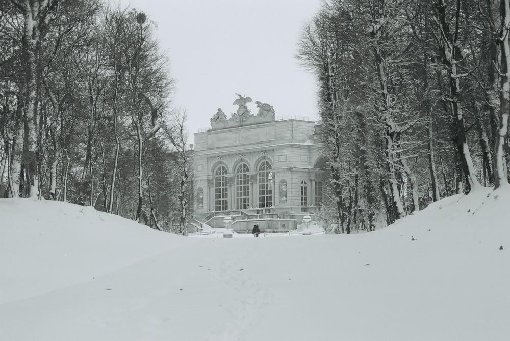 Winter in Schönbrunn