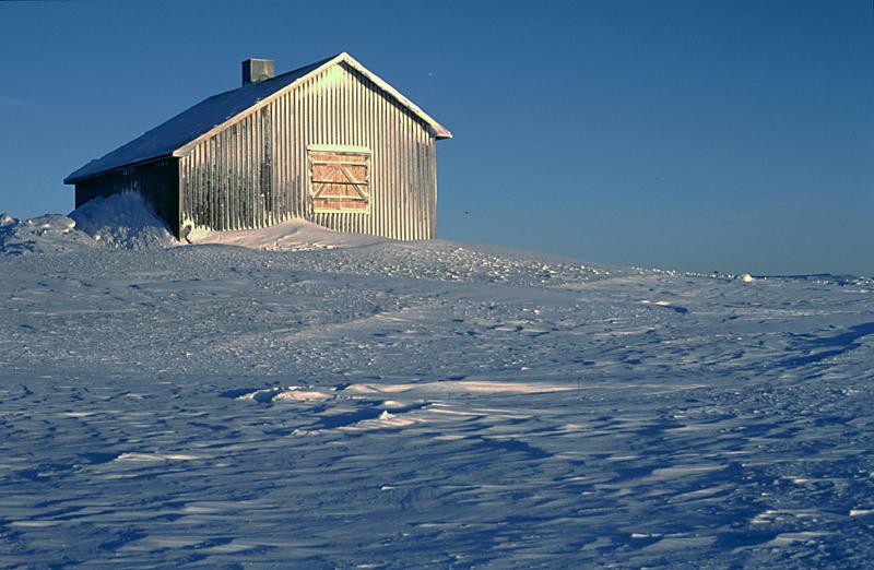 Winter in Schweden bei -43 °C.