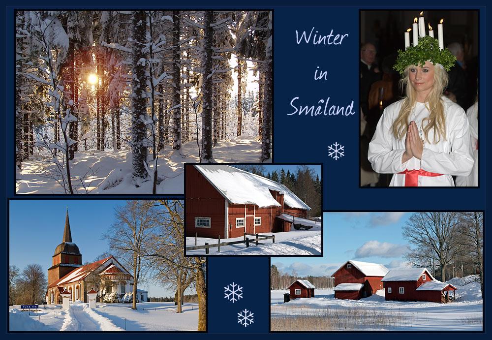 Winter in Småland / Schweden
