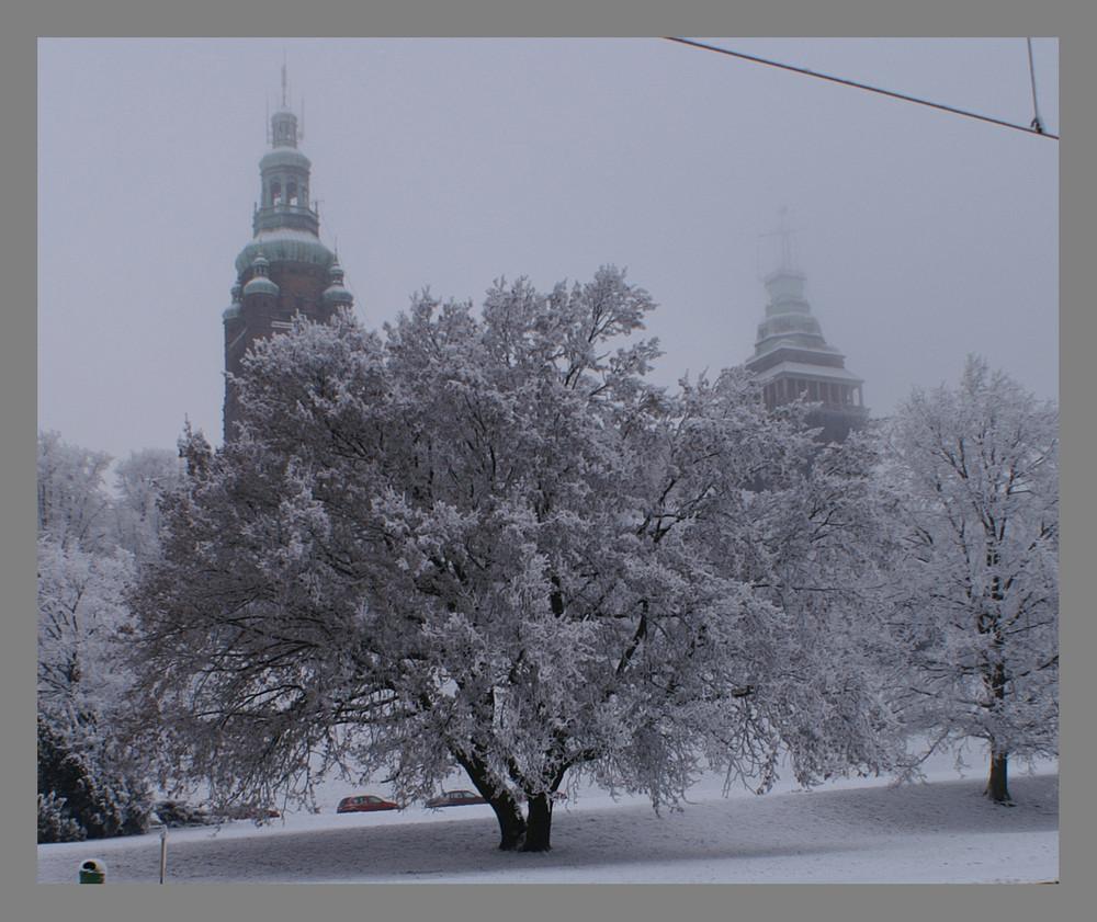 Winter in Szczecin