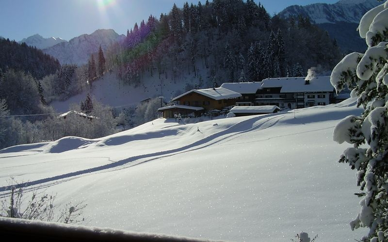 Winter in Tiefenbach
