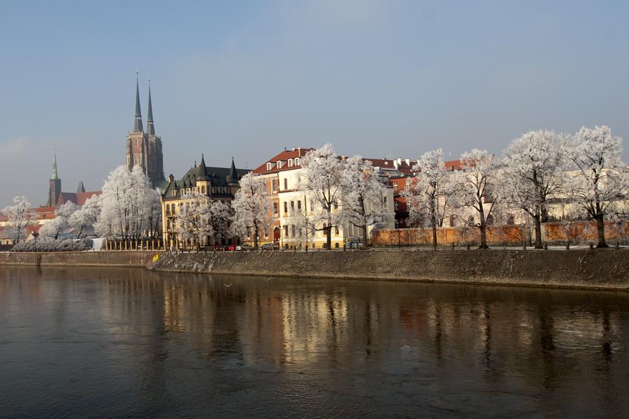 Winter in Wroclaw