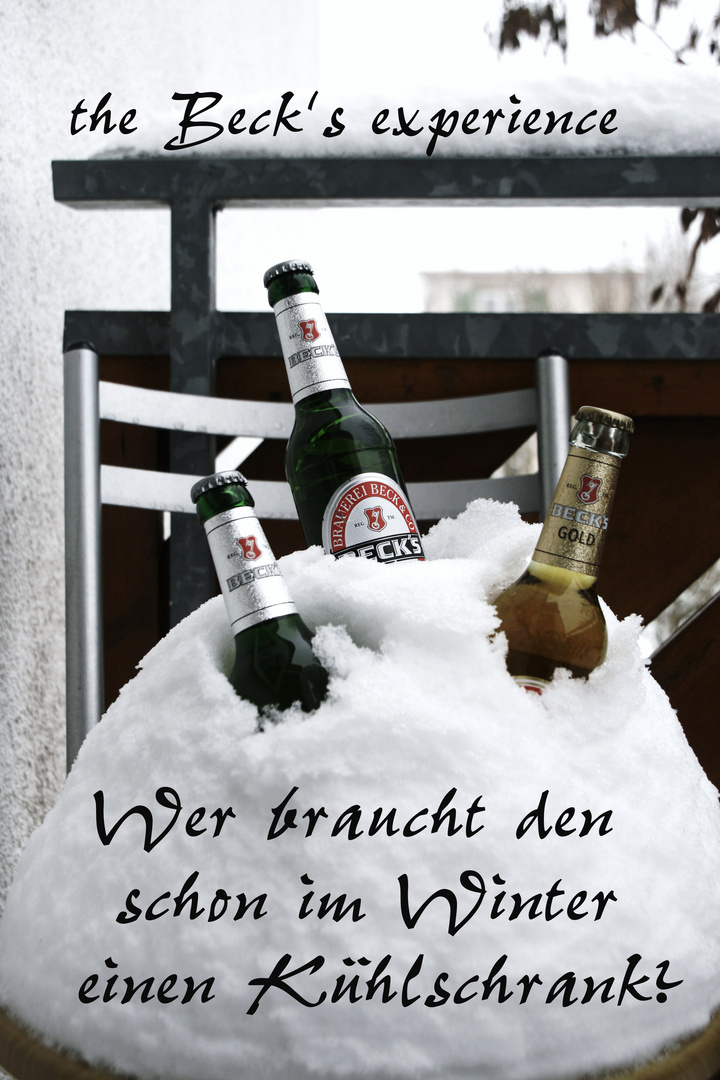 Winter ist doch irgendwie gut ;-)