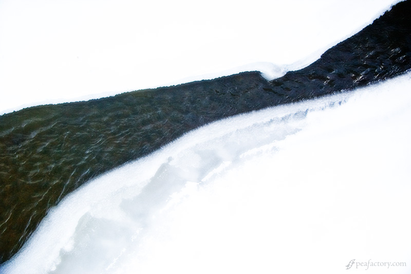 Winter Melting River