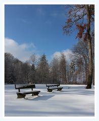 Winter mit Schnee
