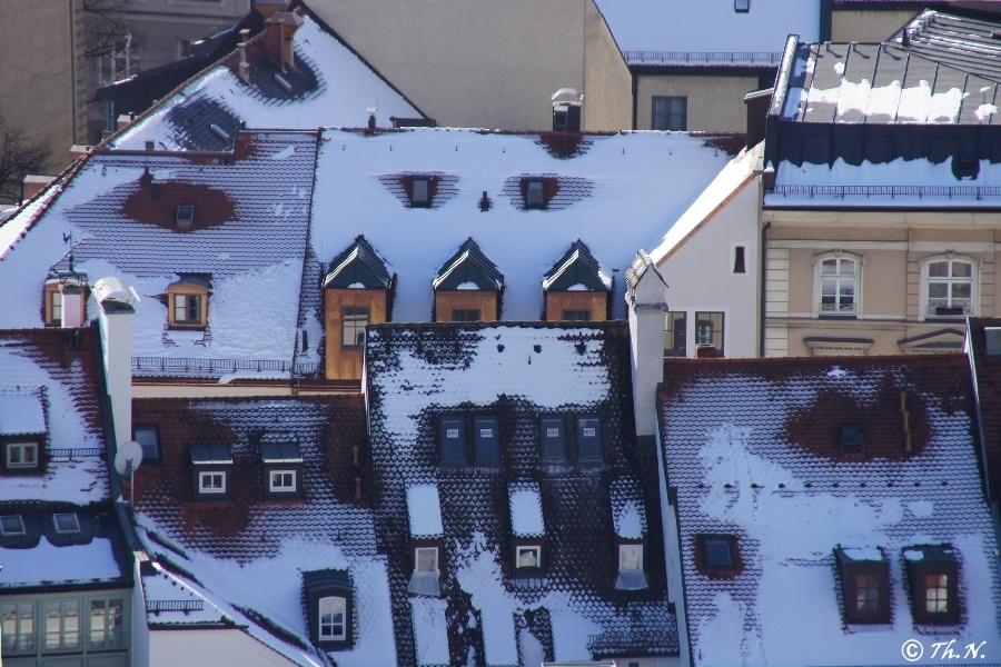 Winter -  nur  von oben herab