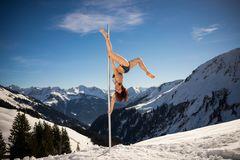 winter part of pole dance...