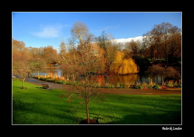 Winter View - London