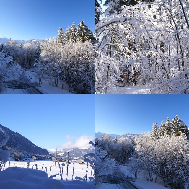 Winter vor einer Woche