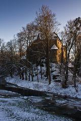 Winter-Zauberschloß...
