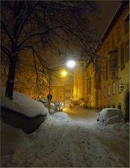 Winterabend ...