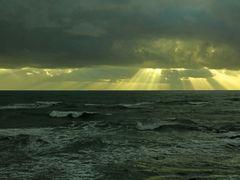 Winterabend am Meer  /  Sera invernale sul mare  (1)