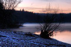 Winterabend an der Möhne