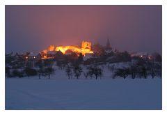 Winterabend bei Altenstein