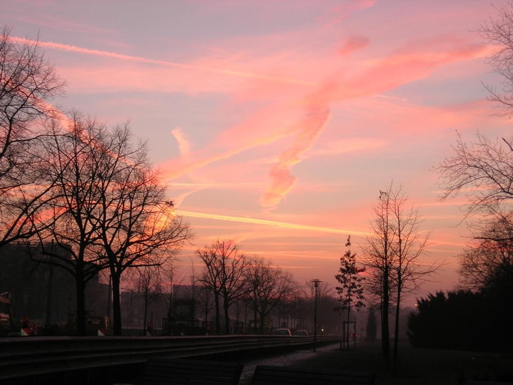 Winterabend in Leipzig