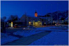 Winterabend in Molln