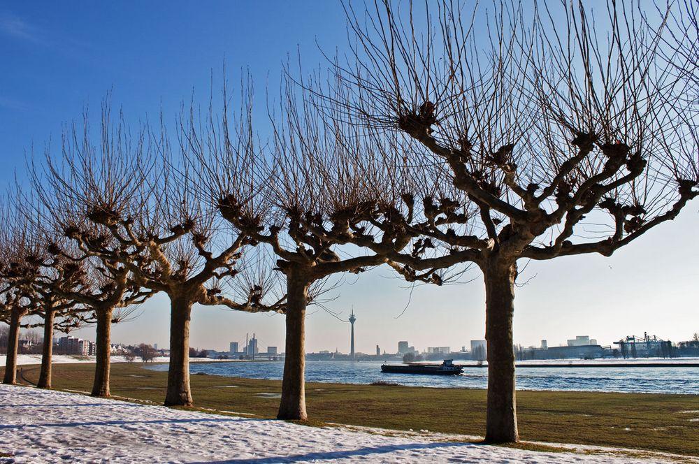 Winteranblick Düsseldorf