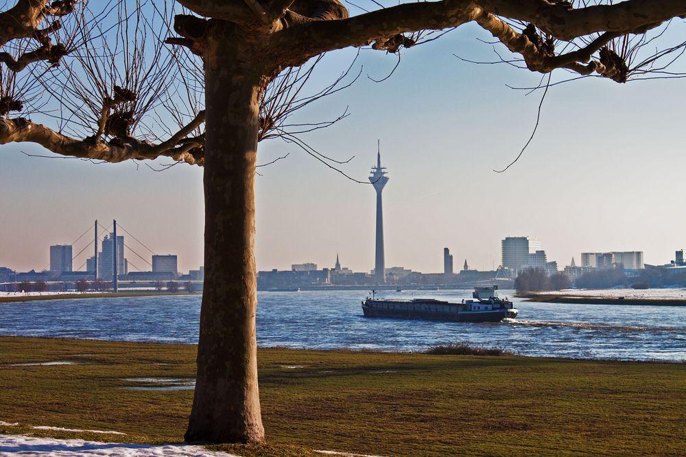 Winteranblick Düsseldorf II